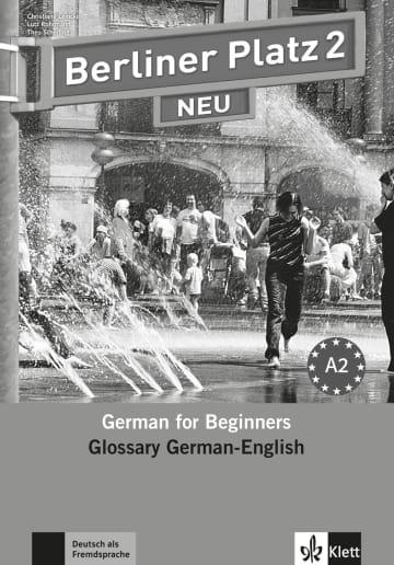Cover Berliner Platz 2 NEU 978-3-12-606047-9 Deutsch als Fremdsprache (DaF)