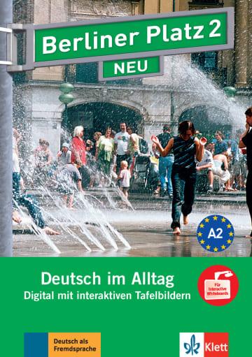 Cover Berliner Platz 2 NEU 978-3-12-606055-4 Deutsch als Fremdsprache (DaF)