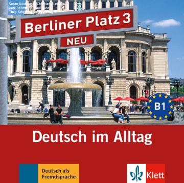 Cover Berliner Platz 3 NEU 978-3-12-606058-5 Deutsch als Fremdsprache (DaF)