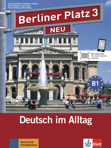 Cover Berliner Platz 3 NEU 978-3-12-606059-2 Deutsch als Fremdsprache (DaF)