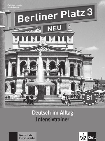 Cover Berliner Platz 3 NEU 978-3-12-606060-8 Deutsch als Fremdsprache (DaF)