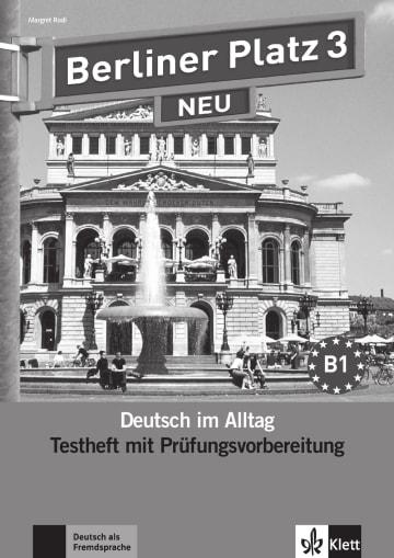 Cover Berliner Platz 3 NEU 978-3-12-606061-5 Deutsch als Fremdsprache (DaF)