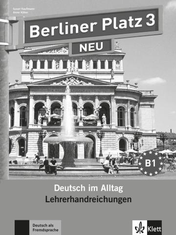 Cover Berliner Platz 3 NEU 978-3-12-606062-2 Deutsch als Fremdsprache (DaF)