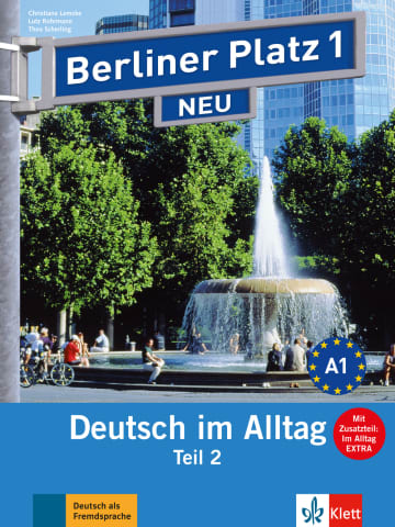 Cover Berliner Platz 1 NEU 978-3-12-606066-0 Deutsch als Fremdsprache (DaF)