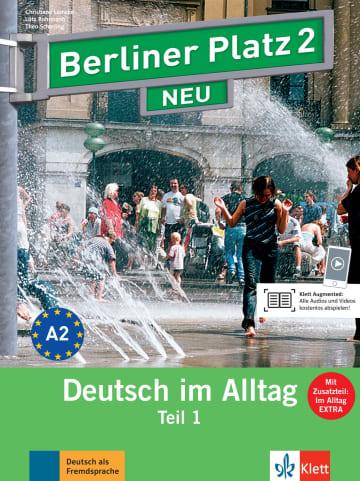 Cover Berliner Platz 2 NEU 978-3-12-606069-1 Deutsch als Fremdsprache (DaF)