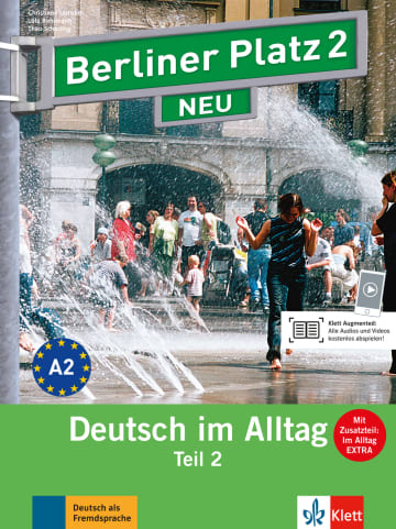 Cover Berliner Platz 2 NEU 978-3-12-606070-7 Deutsch als Fremdsprache (DaF)