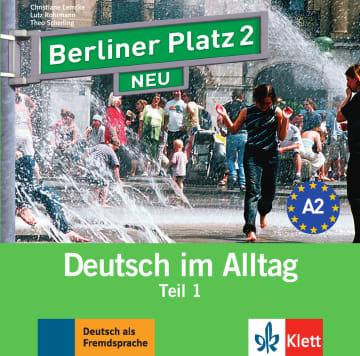 Cover Berliner Platz 2 NEU 978-3-12-606071-4 Deutsch als Fremdsprache (DaF)