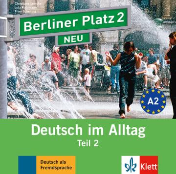 Cover Berliner Platz 2 NEU 978-3-12-606072-1 Deutsch als Fremdsprache (DaF)