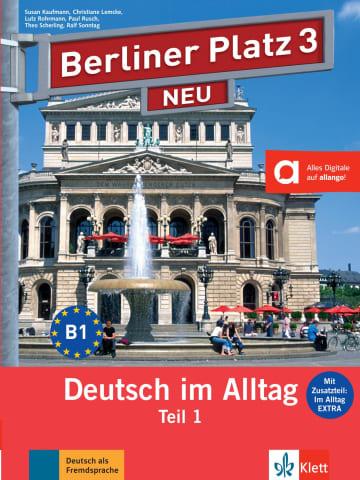 Cover Berliner Platz 3 NEU 978-3-12-606073-8 Deutsch als Fremdsprache (DaF)