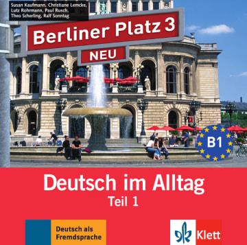 Cover Berliner Platz 3 NEU 978-3-12-606075-2 Deutsch als Fremdsprache (DaF)