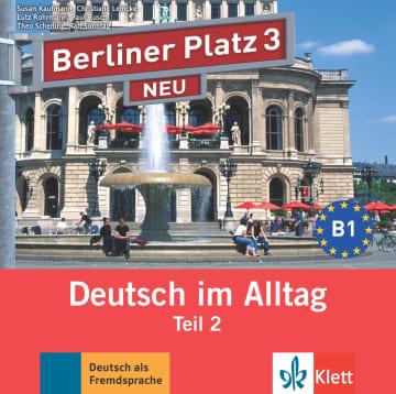 Cover Berliner Platz 3 NEU 978-3-12-606076-9 Deutsch als Fremdsprache (DaF)