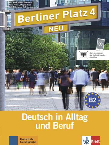 Cover Berliner Platz 4 NEU 978-3-12-606077-6 Deutsch als Fremdsprache (DaF)