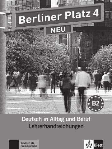 Cover Berliner Platz 4 NEU 978-3-12-606078-3 Deutsch als Fremdsprache (DaF)