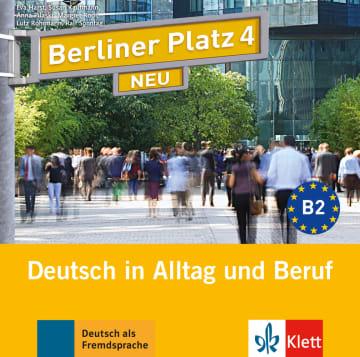 Cover Berliner Platz 4 NEU 978-3-12-606079-0 Deutsch als Fremdsprache (DaF)