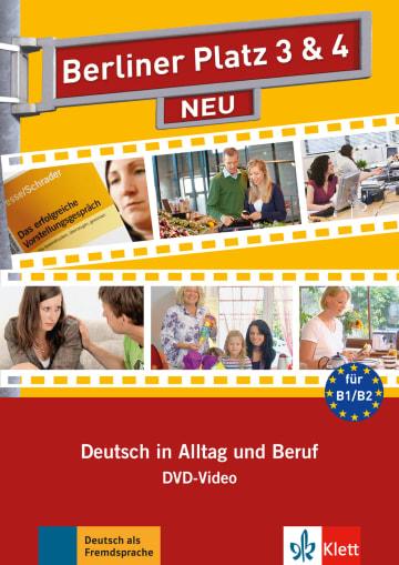 Cover Berliner Platz 3 & 4 NEU 978-3-12-606081-3 Deutsch als Fremdsprache (DaF)