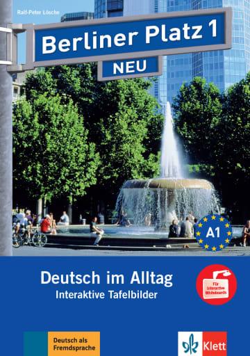 Cover Berliner Platz 1 NEU 978-3-12-606083-7 Deutsch als Fremdsprache (DaF)
