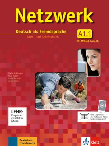 Cover Netzwerk A1 978-3-12-606131-5 Deutsch als Fremdsprache (DaF)