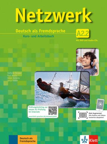 Cover Netzwerk A2 978-3-12-606143-8 Deutsch als Fremdsprache (DaF)