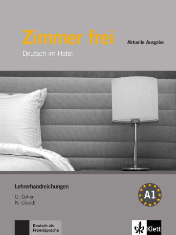 Cover Zimmer frei 978-3-12-606178-0 Deutsch als Fremdsprache (DaF)