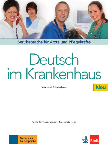 Cover Deutsch im Krankenhaus Neu 978-3-12-606179-7 Deutsch als Fremdsprache (DaF)