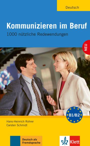 Cover Kommunizieren im Beruf 978-3-12-606189-6 Deutsch als Fremdsprache (DaF)