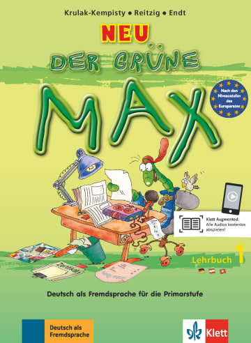 Cover Der grüne Max NEU 1 978-3-12-606192-6 Deutsch als Fremdsprache (DaF)
