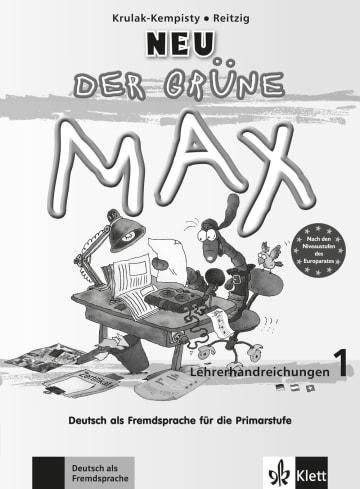 Cover Der grüne Max NEU 1 978-3-12-606194-0 Deutsch als Fremdsprache (DaF)