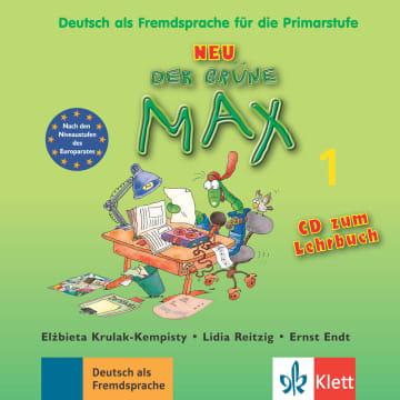 Cover Der grüne Max NEU 1 978-3-12-606195-7 Deutsch als Fremdsprache (DaF)