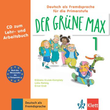 Cover Der grüne Max 1 978-3-12-606202-2 Deutsch als Fremdsprache (DaF)