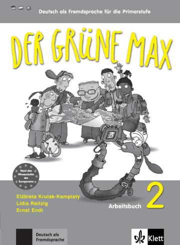 Cover Der grüne Max 2 978-3-12-606206-0 Deutsch als Fremdsprache (DaF)