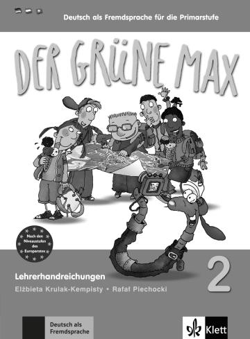 Cover Der grüne Max 2 978-3-12-606207-7 Deutsch als Fremdsprache (DaF)