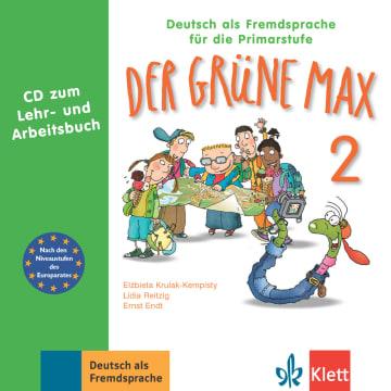 Cover Der grüne Max 2 978-3-12-606209-1 Deutsch als Fremdsprache (DaF)