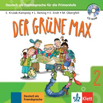 Cover Der grüne Max 2 978-3-12-606211-4 Deutsch als Fremdsprache (DaF)