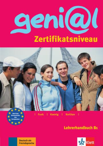 Cover geni@l B1 978-3-12-606217-6 Deutsch als Fremdsprache (DaF),Deutsch als Zweitsprache (DaZ)
