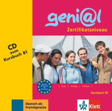 Cover geni@l B1 978-3-12-606218-3 Deutsch als Fremdsprache (DaF),Deutsch als Zweitsprache (DaZ)