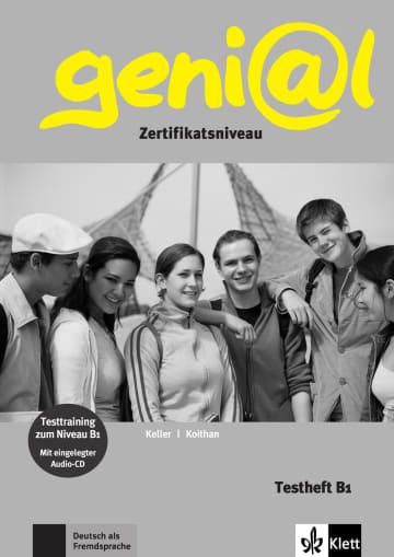 Cover geni@l B1 978-3-12-606221-3 Deutsch als Fremdsprache (DaF),Deutsch als Zweitsprache (DaZ)