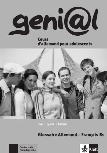 Cover geni@l B1 978-3-12-606223-7 Deutsch als Fremdsprache (DaF),Deutsch als Zweitsprache (DaZ)