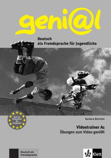 Cover geni@l A1 978-3-12-606228-2 Deutsch als Fremdsprache (DaF),Deutsch als Zweitsprache (DaZ)