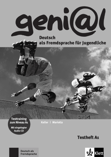 Cover geni@l A1 978-3-12-606235-0 Deutsch als Fremdsprache (DaF),Deutsch als Zweitsprache (DaZ)