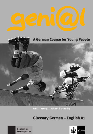 Cover geni@l A1 978-3-12-606237-4 Deutsch als Fremdsprache (DaF),Deutsch als Zweitsprache (DaZ)