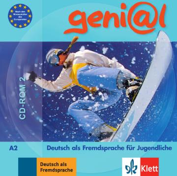 Cover geni@l A2 978-3-12-606243-5 Deutsch als Fremdsprache (DaF)