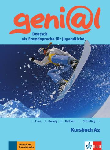 Cover geni@l A2 978-3-12-606244-2 Deutsch als Fremdsprache (DaF),Deutsch als Zweitsprache (DaZ)