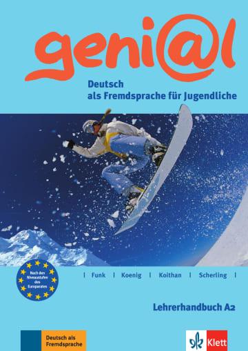 Cover geni@l A2 978-3-12-606246-6 Deutsch als Fremdsprache (DaF),Deutsch als Zweitsprache (DaZ)