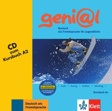 Cover geni@l A2 978-3-12-606247-3 Deutsch als Fremdsprache (DaF),Deutsch als Zweitsprache (DaZ)