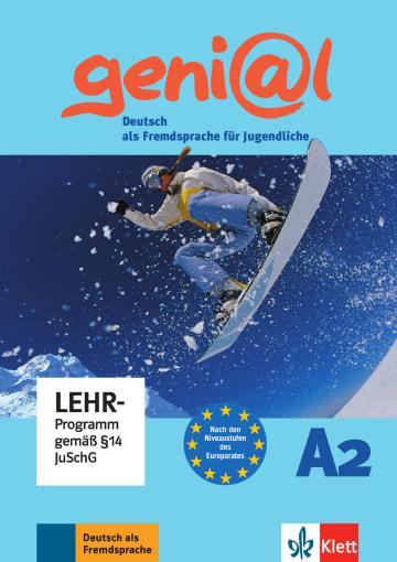 Cover geni@l A2 978-3-12-606257-2 Deutsch als Fremdsprache (DaF),Deutsch als Zweitsprache (DaZ)