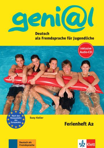 Cover Ferienhefte geni@l A2 978-3-12-606259-6 Deutsch als Fremdsprache (DaF),Deutsch als Zweitsprache (DaZ)