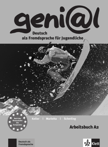 Cover geni@l A2 978-3-12-606262-6 Deutsch als Fremdsprache (DaF),Deutsch als Zweitsprache (DaZ)