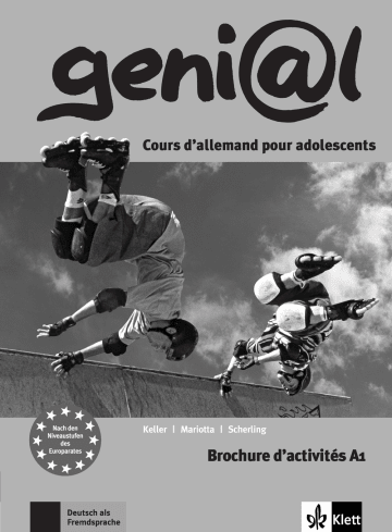 Cover geni@l A1 978-3-12-606265-7 Deutsch als Fremdsprache (DaF)