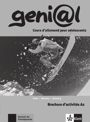 Cover geni@l A2 978-3-12-606269-5 Deutsch als Fremdsprache (DaF)