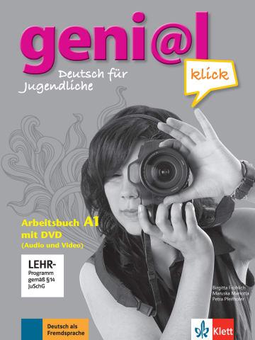 Cover geni@l klick A1 978-3-12-606282-4 Deutsch als Fremdsprache (DaF),Deutsch als Zweitsprache (DaZ)